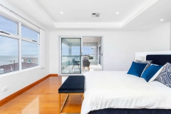 Master Bedroom with balcony and seaview
