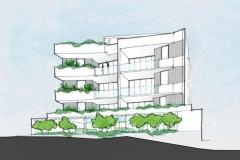 Scarborough Apartments Illustration